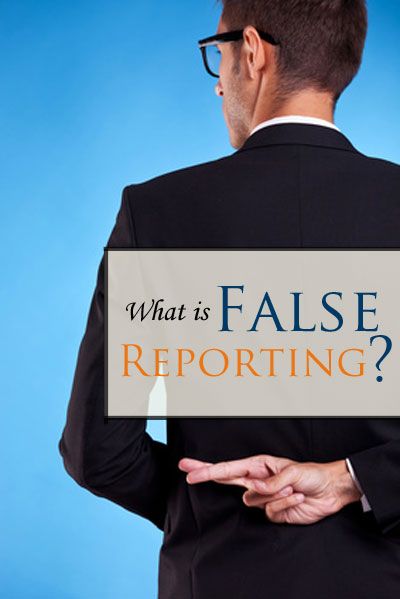 If you give the wrong information to police, you could be charged with False Reporting. Contact us for a FREE consultation today to defend your future.