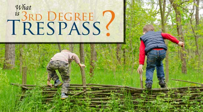 What is Third Degree Criminal Trespass and why do you need a defense lawyer if you are facing these charges in Larimer County, Co? Click here to find out.