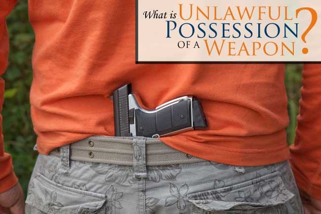 Have you been charged with Unlawful Possession of a Concealed Weapon? Read more about these charges here and how the best criminal defense lawyers can help.