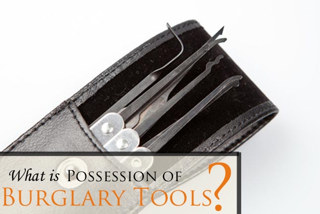 Have you been charged with Possession of Burglary Tools? Contact an experienced Ft. Collins criminal defense attorney at our office for a FREE consultation!