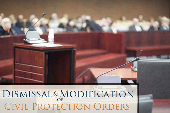 Learn about dismissing or modifying the Civil Protection Order (Restraining Order) against you in CO. Contact us for a free initial consultation today.